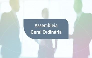 Assembleia Geral Ordinária 08 de Novembro de 2019 pelas 20H30